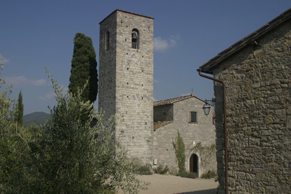 Spaltenna (600Wx400H) - The Parish Church - photo courtesy of Paolo Ramponi - castellitoscani.com