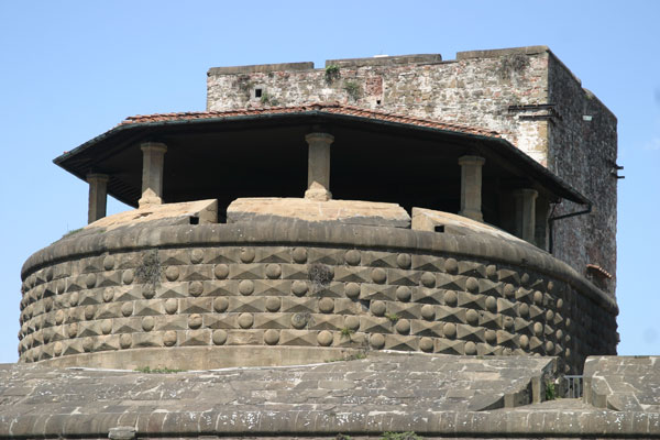 Fortress Keep (600Wx400H) - The Fortress Keep of Fortezza da Basso of Florence (Photo by Stephanie Colorado)