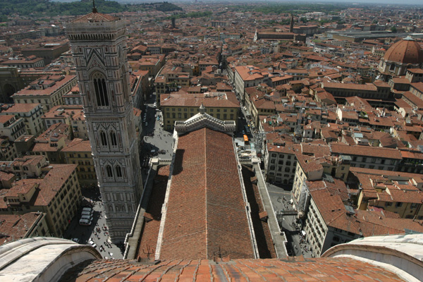 Magic Florence (600Wx400H) - Wonderful view of Florence from the top of the
