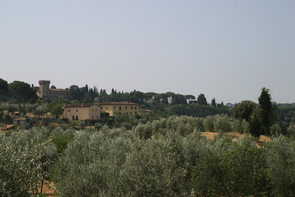 Monte Oliveto, Florence (600Wx400H) - Wanna enjoy a real Tuscan landscape staying in the city center? Then