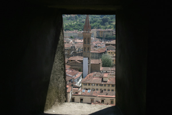 Badia Fiorentina (600Wx400H) - View of Badia Fiorentina taken from the Duomo (Photo by Paolo Ramponi)