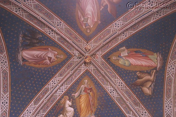 Sagrestia Vecchia (600Wx400H) - Frescoed ceilings of the 'Sacrestia Vecchia'. (Photo by Paolo Ramponi)