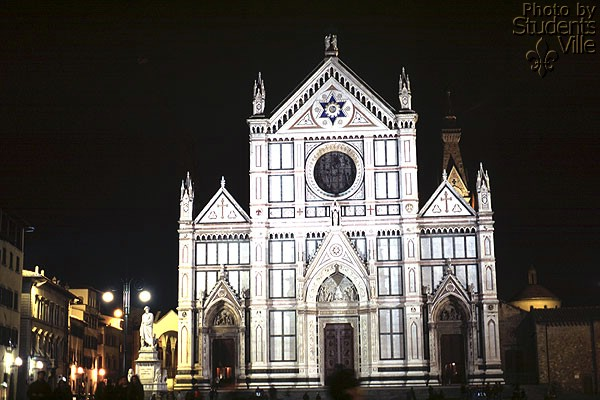 Santa Croce (600Wx400H) - Santa Croce by night (Photo by Paolo Ramponi)