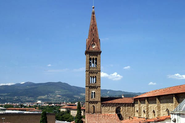 Bell Tower (600Wx400H) - The beautiful belltower of Santa Maria Novella church...(Photo by Paolo Ramponi)