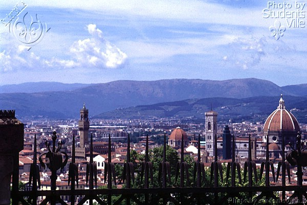 From San Miniato (600Wx400H) - A view from San Miniato Basilica (Photo by Paolo Ramponi)